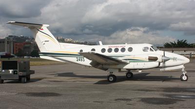2493 - Beechcraft 200C Super King Air - Venezuela - Air Force
