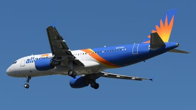 N275NV  - Airbus A320-214 - Allegiant Air