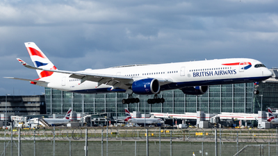 A picture of GXWBE - Airbus A3501041 - British Airways - © Leo Sheng