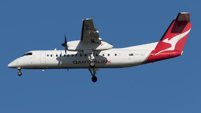 A picture of VHSBT - De Havilland Canada Dash 8300 - QantasLink - © Tony Coles