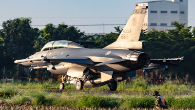 6816 - General Dynamics F-16BM Fighting Falcon - Taiwan - Air Force