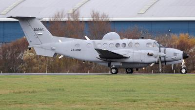 11-00285 - Beechcraft MC-12S Huron - United States - US Army