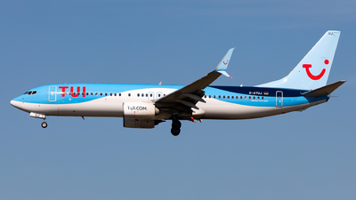 A picture of DATUJ - Boeing 7378K5 - TUI fly - © Sebastian Sowa