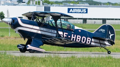 F-HBOB - Pitts S-2B Special - Private