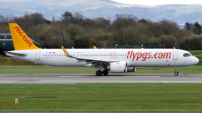 A picture of TCRBG - Airbus A321251NX - Pegasus Airlines - © Paul Y. M. Chow - AHKGAP
