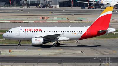 EC-JVE - Airbus A319-111 - Iberia