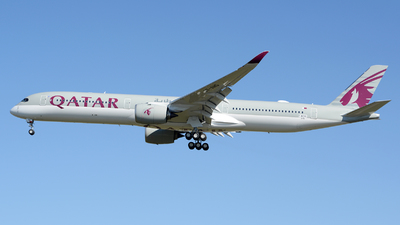 F-WZNV - Airbus A350-1041 - Qatar Airways