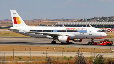 EC-FCB - Airbus A320-211 - Iberia Express