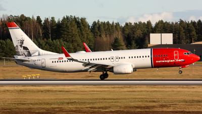 LN-DYB - Boeing 737-8JP - Norwegian