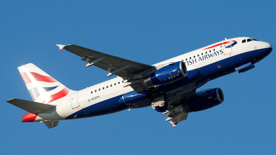A picture of GEUPH - Airbus A319131 - British Airways - © mkwia