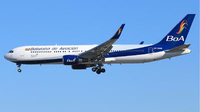 A picture of CP3086 - Boeing 7673S1(ER) - Boliviana de Aviacion - © Jinyuan LIU