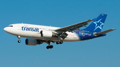 C-GTSF - Airbus A310-304 - Air Transat