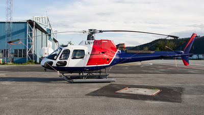 LN-OFU - Eurocopter AS 350B3 Ecureuil - Helitrans