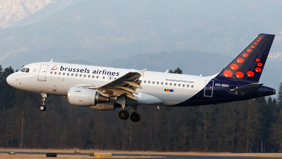 A picture of OOSSO - Airbus A319111 - Brussels Airlines - © Borut