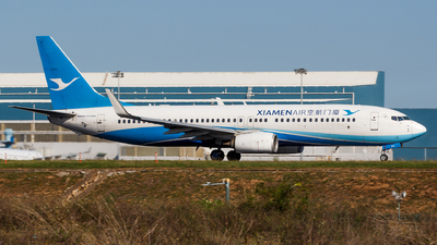 A picture of B1912 - Boeing 73785C - Xiamen Air - © Aaron_ZSAM