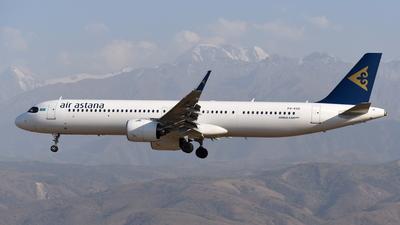 A picture of P4KGE - Airbus A321271NX - Air Astana - © Damir Kagarmanov-Kazakhstan Spotting Club