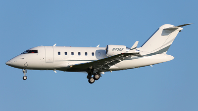 N43QF - Bombardier CL-600-2B16 Challenger 605 - Private