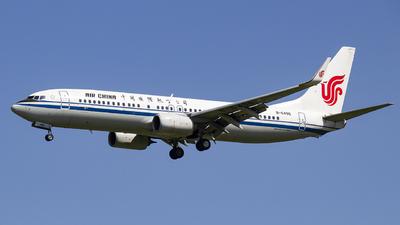 B-6496 - Boeing 737-89L - Air China
