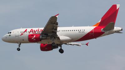 A picture of PRAVC - Airbus A319115 - [4287] - © Filipe Castro / GIG ao Vivo