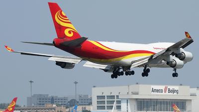 B-1340 - Boeing 747-4HAERF - Yangtze River Airlines