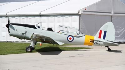 A picture of GAOFE - De Havilland Canada DHC1 Chipmunk - [C1/0150] - © Ian Johnson