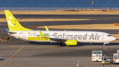 A picture of JA812X - Boeing 73786N - Solaseed Air - © Resupe
