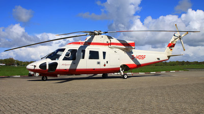 A picture of DHOSF - SikorskyS76B - Wiking Helikopter Service - © Christoph Meyer