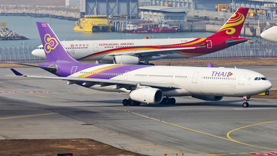 HS-TBC - Airbus A330-343 - Thai Airways International