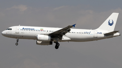 A picture of EPAPH - Airbus A320231 - Iran Aseman Airlines - © Dara Z.