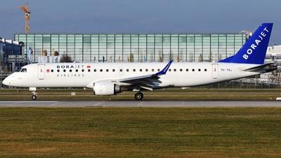TC-YAJ - Embraer 190-100LR - Bora Jet