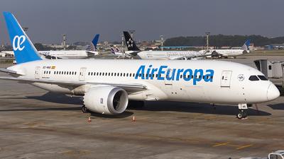 A picture of ECMNS - Boeing 7878 Dreamliner - Air Europa - © Fabricio Lucio
