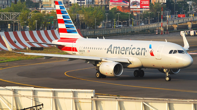 N8027D - Airbus A319-115 - American Airlines
