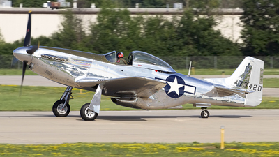 N151AM - North American P-51D Mustang - Private