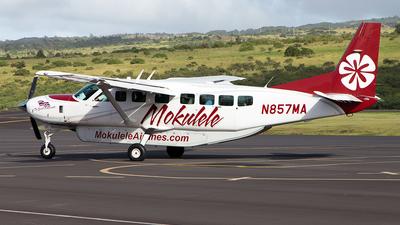 N857MA - Cessna 208B Grand Caravan - Mokulele Airlines