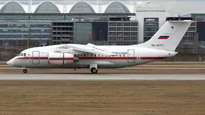 A picture of RA61717 - Antonov An148100EM - MCHS Rossii - © Michael Raucheisen