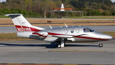 N53WA - Eclipse Aviation Eclipse 500 - Private