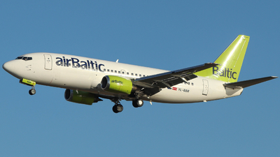 YL-BBR - Boeing 737-31S - Air Baltic