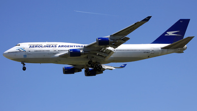 LV-ALJ - Boeing 747-475 - Aerolíneas Argentinas
