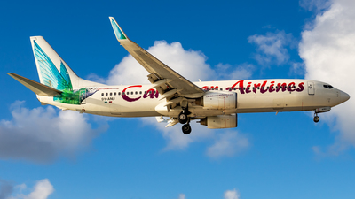 A picture of 9YANU - Boeing 7378Q8 - Caribbean Airlines - © Brandon Giacomin