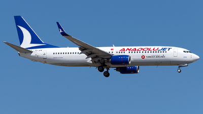 A picture of TCJFM - Boeing 7378F2 - Turkish Airlines - © Turkay Oksuz