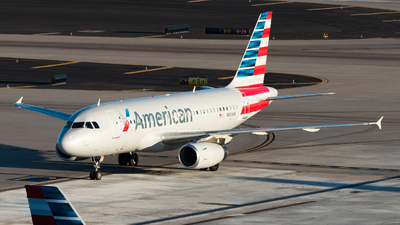 N801AW - Airbus A319-132 - American Airlines