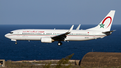 CN-ROC - Boeing 737-8B6 - Royal Air Maroc (RAM)
