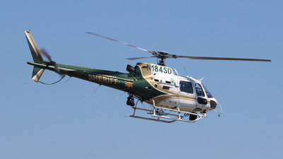 N184SD - Eurocopter AS 350B2 Ecureuil - United States - Orange County Sheriff Department, California