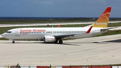 OK-TVP - Boeing 737-8K5 - Sunrise Airways (Travel Service)