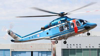 JA14MP - Agusta-Bell AB-139 - Japan - Police