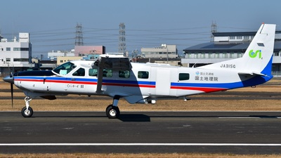 JA315G - Cessna 208B Grand Caravan - Japan - Geospatial Information Authority