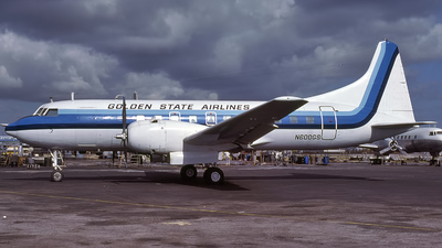 N600GS - Convair CV-440 - Golden State Airlines