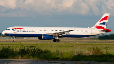 G-EUXC - Airbus A321-231 - British Airways