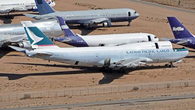 B-HOZ - Boeing 747-467(BCF) - Cathay Pacific Cargo