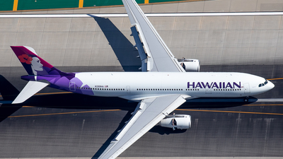 N399HA - Airbus A330-243 - Hawaiian Airlines